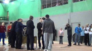 Награждение 1 место TIGERS 19.02.2012г