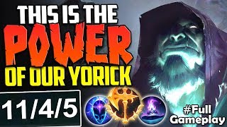 THIS IS THE POWER OF OUR YORICK | Conqueror Yorick vs Vayne TOP | NA Unranked to Diamond #49