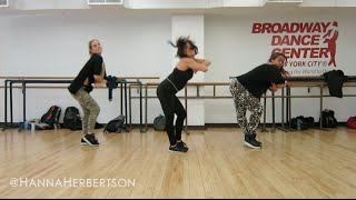 Rihanna + Drake WORK DANCEHALL @ Broadway Dance Center @HannaHerbertson @BLACKGOLDnyc Choreography