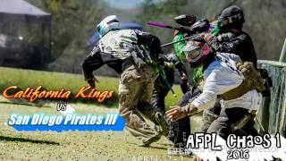 California Kings Vs San Diego Pirates III- AFPL Chaos #1