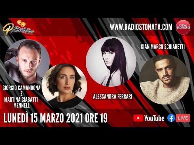 15.03.2021- G. Camandona, M. Ciabatti Mennell, A. Ferrari e G. M. Schiaretti ospiti a Radio Stonata