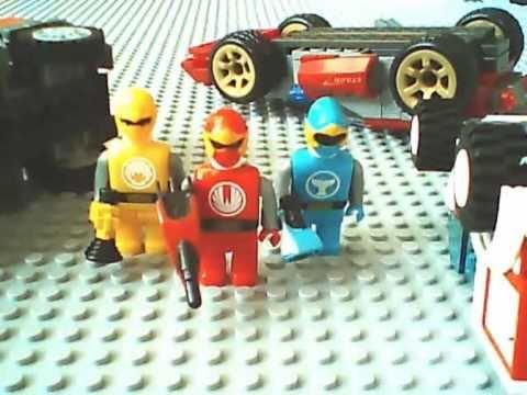 Lego power rangers ninja storm