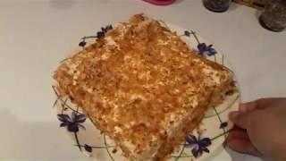 Торт Наполеон из 3 ингредиентов /Рецепт торта за 30 минут ! Простой ,быстрый и вкусный торт