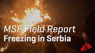 Refugees Struggle with Biting Cold, Lack of Facilities in Serbia