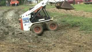 How to Get a Bobcat Stuck and Unstuck