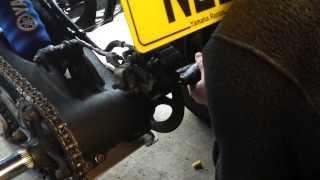 Axle Nut grub screw cutting out