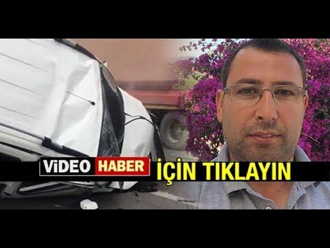 HAMDİ COŞKUN KAZADA HAYATINI KAYBETTİ...