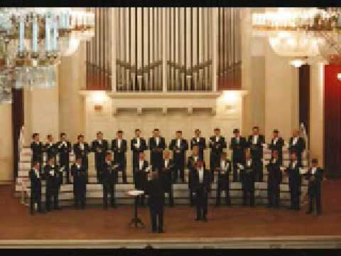 Male Choir of St. Petersburg: The Lord's Prayer