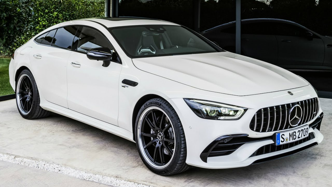 2019 Mercedes Amg Gt 53 4matic 4 Door Coupe The New Member Of Family