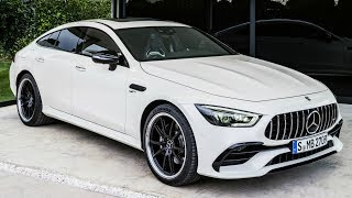 2019 Mercedes AMG GT 53 4MATIC+ 4 Door Coupe - the New Member of the AMG GT Family