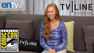 """Molly C. Quinn on """"Castle"""" Season 5 Romance and Being a Geek at Comic-Con: ENTV"""