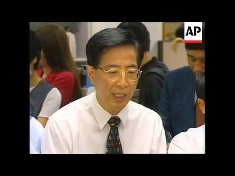 HONG KONG: POPULAR DEMOCRATIC PARTY MOVES TO RENTED OFFICE SPACE