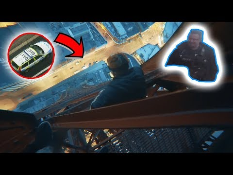 Blackpool Tower: The Climb down *Already BANNED for life*