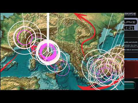 10/18/2017 -- South Europe / Italy possible larger Earthquake + California EQ drill