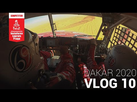 InstaForex Loprais Team DAKAR 2020   Stage 6 - VLOG 10