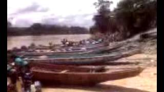 PUERTO DEL RIO CUYUNI,PASE A LAS COLONIAS MOVILES DE EL DORADO.0223121154a