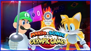 Mario & Sonic 2020 Tokyo Olympic Games PREVIEW Fencing