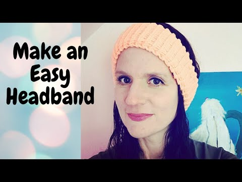 Easy Loom Knit Ear Warmer Headband Beginner Friendly Youtube