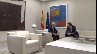 Meeting with the PM of Spain