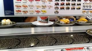 台北  HAMA壽司 日本迴轉壽司登台 實況影片/菜單/點餐/訂位/甜點/價格/ 會員送味增湯~