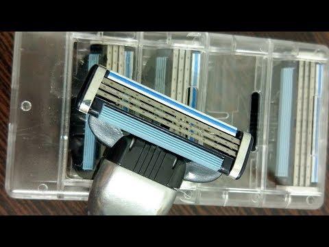 """Не Покупайте """"Gillette Mach 3"""" кассеты копии из Китая!"""