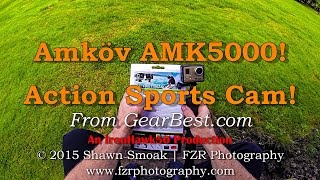 Amkov AMK5000S Action Sports Cam! | Reviews(Insane Cam for Price! | I've Been Loving it! | Accessories Interchange with GoPro! I've been playing around with this camera for a couple weeks now, and have ..., 2015-06-05T15:17:19.000Z)