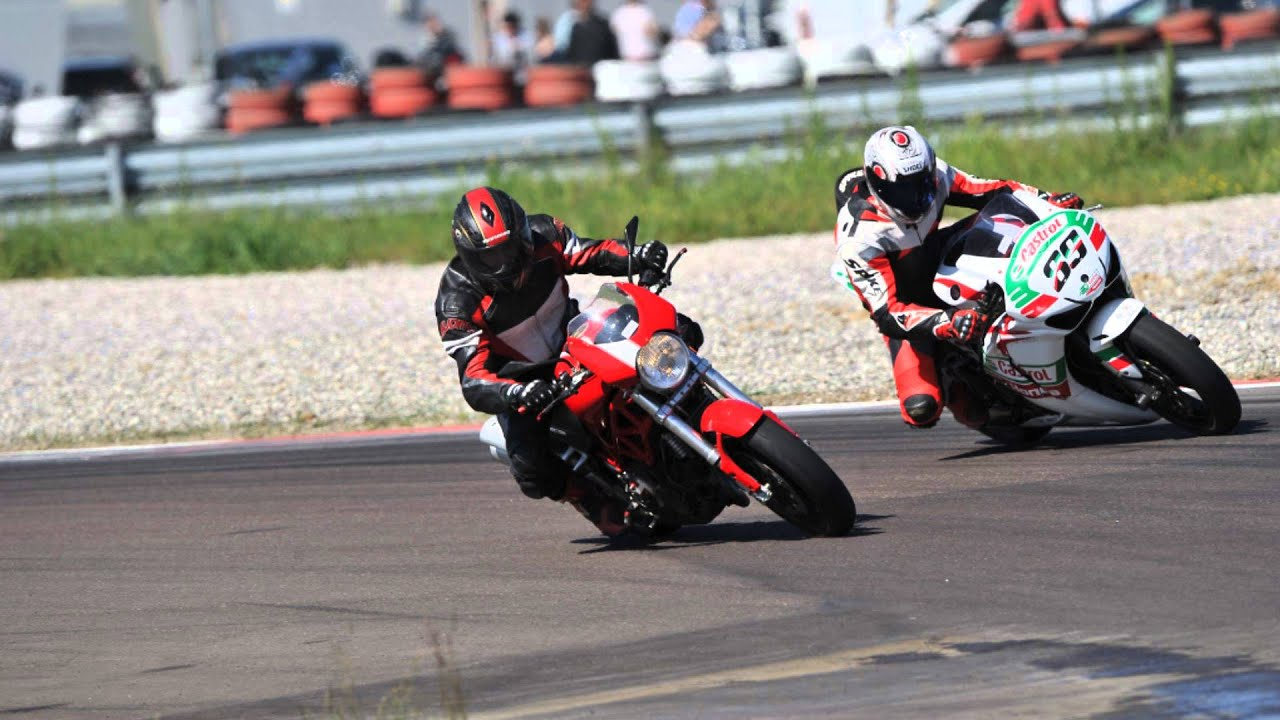 Ducati Monster Track Bike