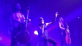 Apocalyptica Shadowmaker Tour 2016 (Dead Man's Eyes)
