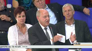 Gregor Gysi, DIE LINKE: Norbert Lammert hat Demokratie verstanden. Danke!