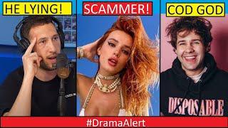 David Dobrik #DramaAlert Bella Thorne SCAMMING! - Mike Majlak LYING! -NELK