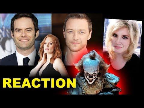 It Chapter 2 Cast - James McAvoy, Bill Hader, Jessica Chastain
