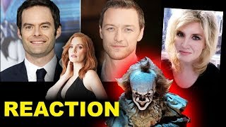It Chapter 2 Cast - James McAvoy, Bill Hader, Jessica Chastain