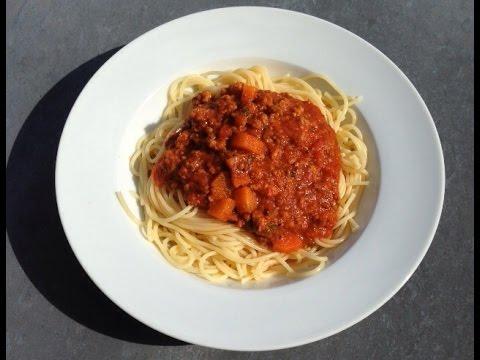 hoe maak je lekkere spaghetti