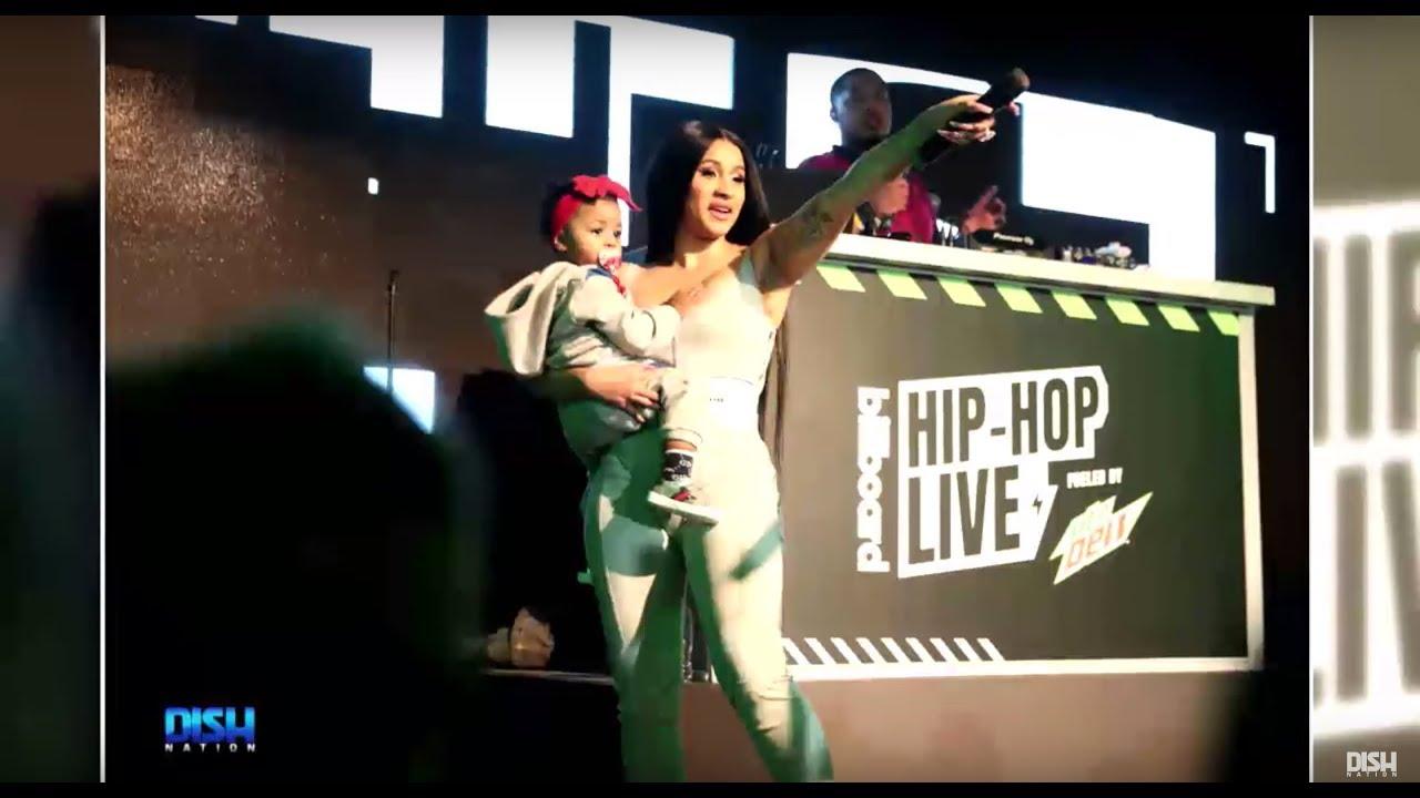 CARDI B CLAPS BACK AT A TROLL WHO INSULTED HER DAUGHTER