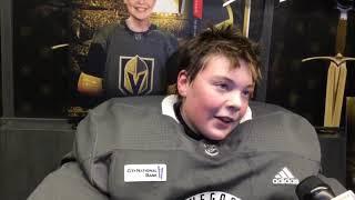 Vegas Golden Knights grant child's wish