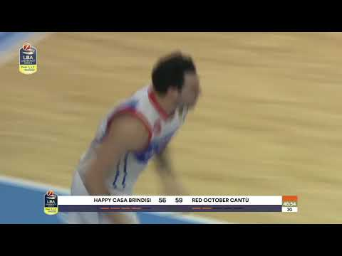 HIGHLIGHTS / Happy Casa Brindisi - Red October Cantù 86-88