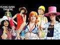 One Piece Zwei Piraten mit nem Weinbrandfass by Flying Sushi Theatre