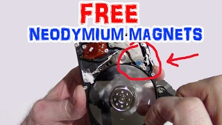 4 Places To Find Neodymium Magnets At Home (Life hack)