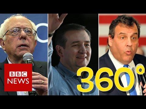 Iowa 2016: On the campaign trail in 360 video - BBC News