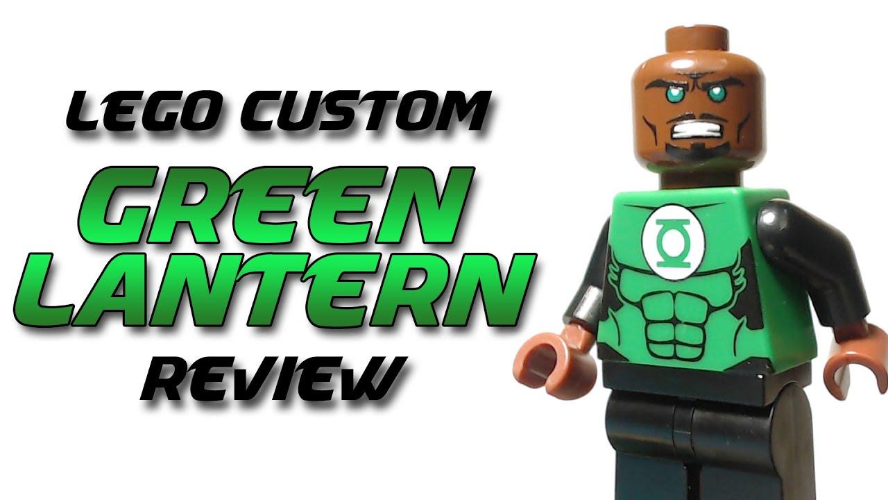 LEGO Green Lantern (John Stewart) - Custom Minifigure ...