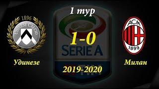 удинезе - Милан обзор матча