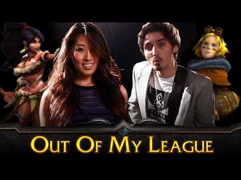 League of Legends - OUT OF MY LEAGUE (Fitz and the Tantrums Parody)