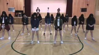 명호중학교 댄스동아리 b chy 대회 예선 ucc sliver spoon crow tit 뱁새