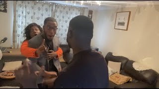 youtube pranks with African parents be like w/@MBbants and @Straight Bernz
