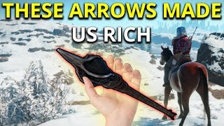 FLAME ARROWS MADE ME SUPER RICH ON WIPE DAY - Rust Survival Gameplay 1