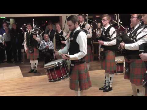 Thiepval Memorial Pipe Band Drum Solo @ Brookeborough FB concert 4/2/17
