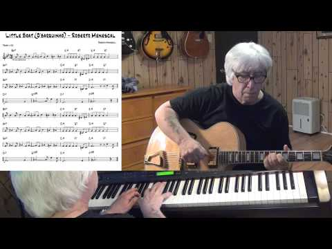 Little Boat (O'barquinho)  - Jazz bossa guitar & piano cover - Yvan Jacques