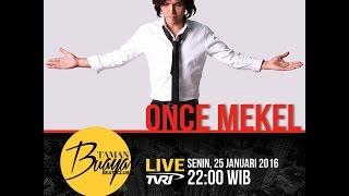 full 1 jam | Once Mekel Live Taman Buaya Beat Club TVRI NASIONAL - 25 Januari 2016