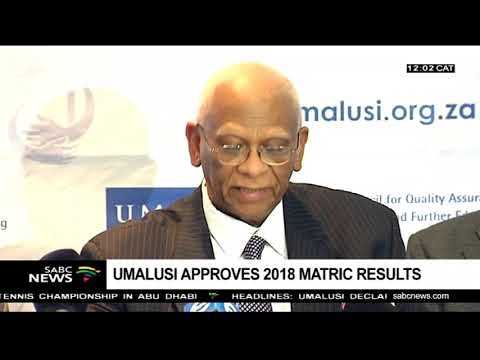 UMALUSI declares 2018 matric results process satisfactory