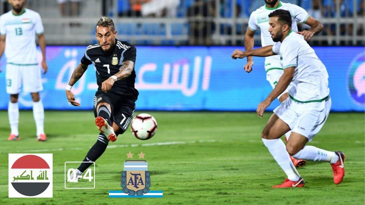Download IRAQ vs ARGENTINA (0-4) - All Goals and Highlights (11/10/2018) HD